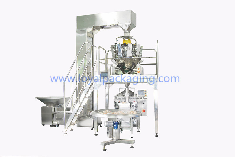 Multihead Combination Weigher for Meat, Poultry, Fish, Seafood, Dairy, Fresh Salads