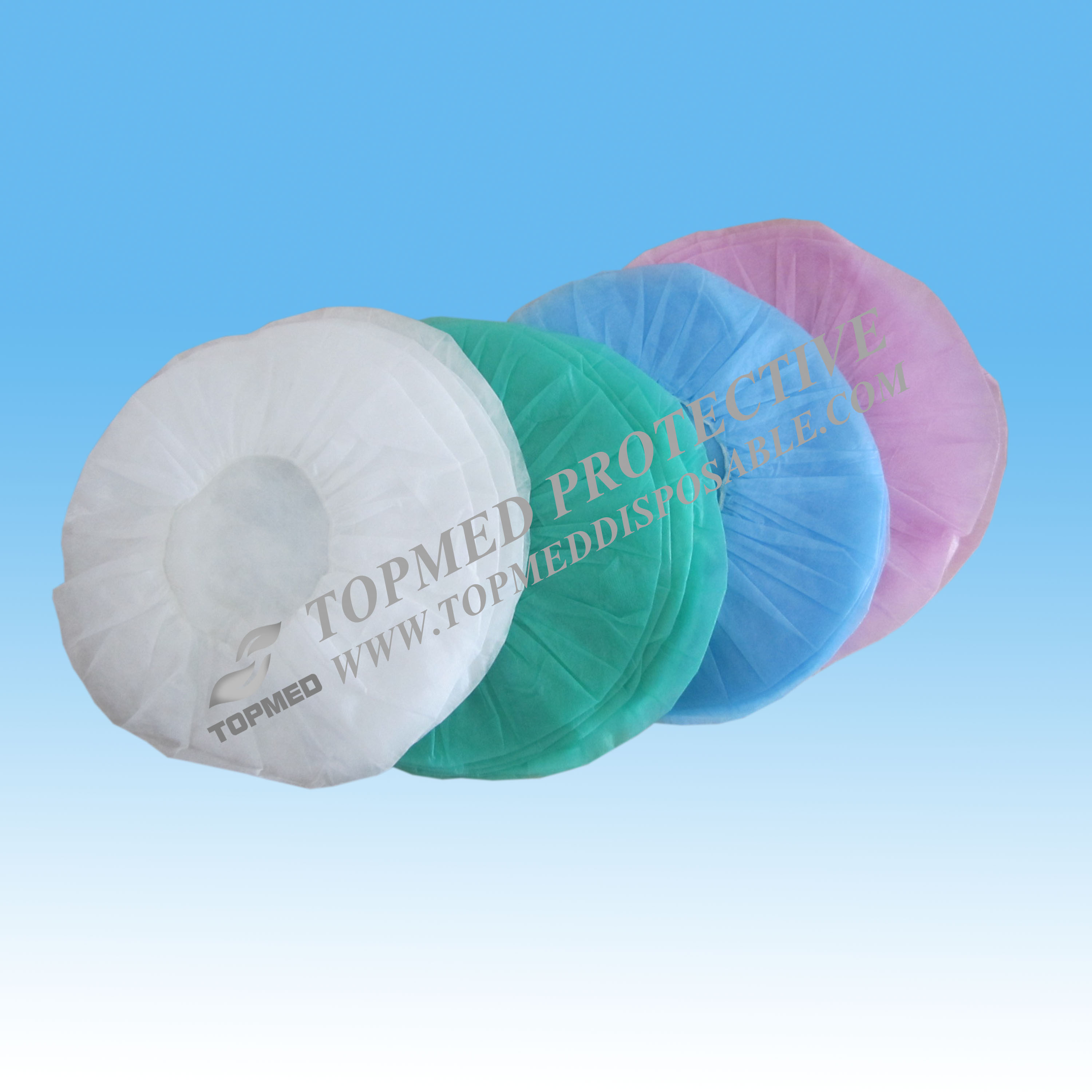 Nonwoven Cheap Disposable Bouffant Caps Manufacturer Wholesale