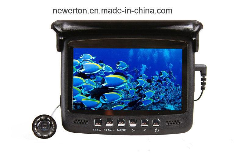 4.3inch Color Screen TFT Mini DVR 15m Underwater Fishing Video Camera