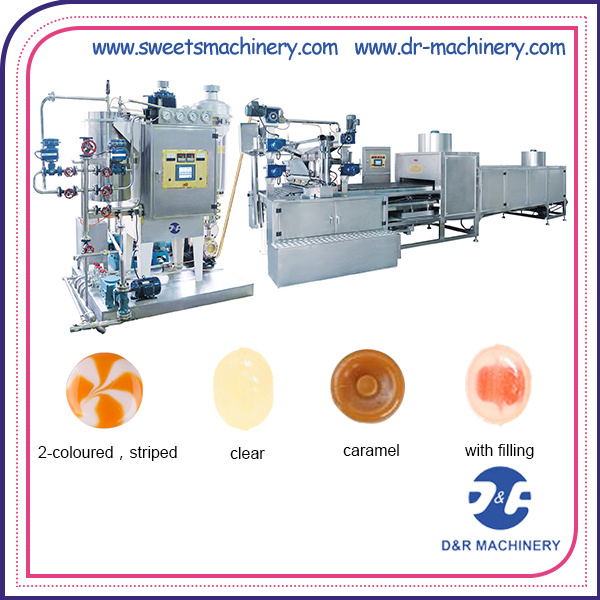 Candy Production Line Best Candy Machine for Hard Sweet
