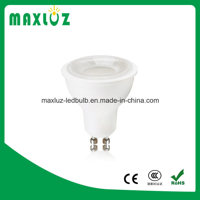 Hot Sale 5W SMD GU10 LED Spotlight with Lens