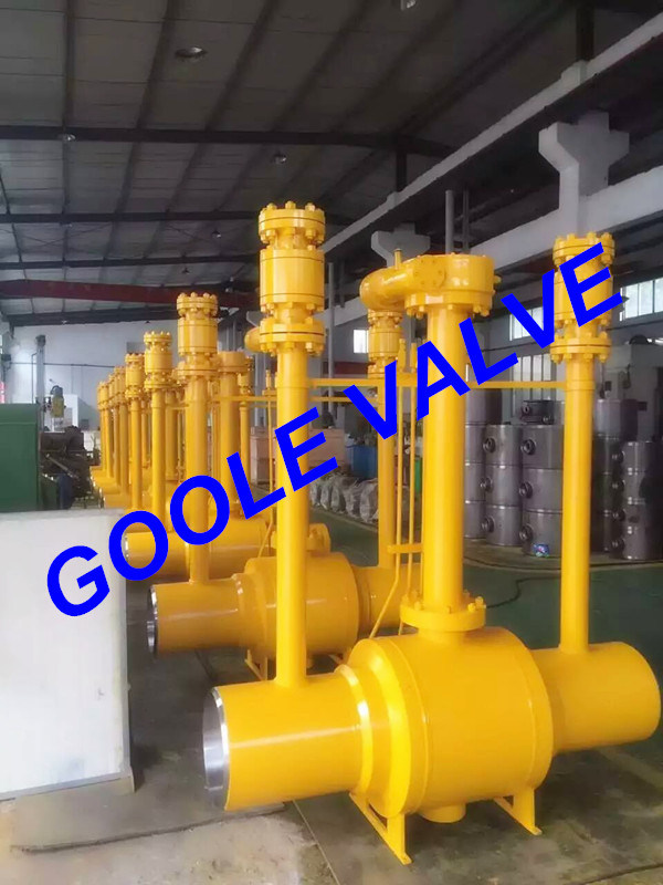 150LB/300LB/600LB/900LB Full Bore Discharging Type Fully Welded Ball Valve (GAQ61PPL)