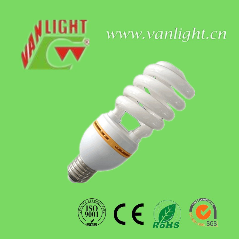 36W Half Spiral CFL Energy Saving Lamp Fluorescent Light E14