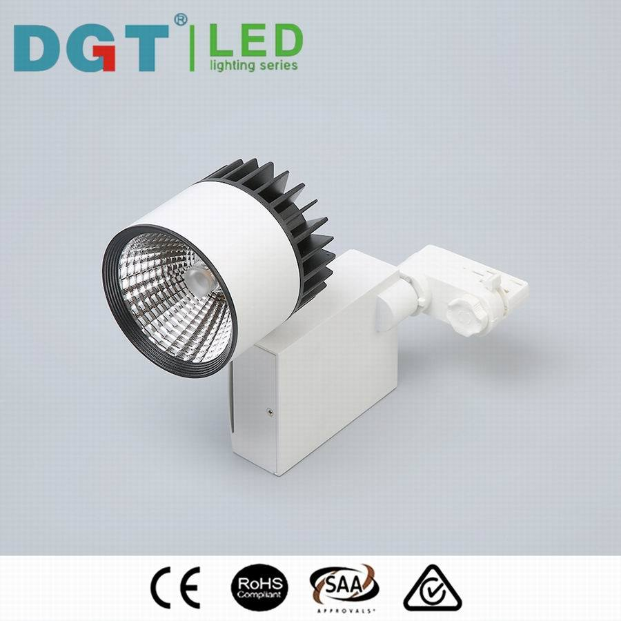 4wire 3phase Optical Lens Project LED Track Light