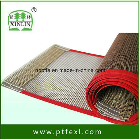 High Durability Mesh Stainless Steel PTFE Teflon Conveyor Belt