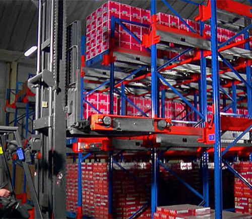 Pallet Runner for Automatic Storage