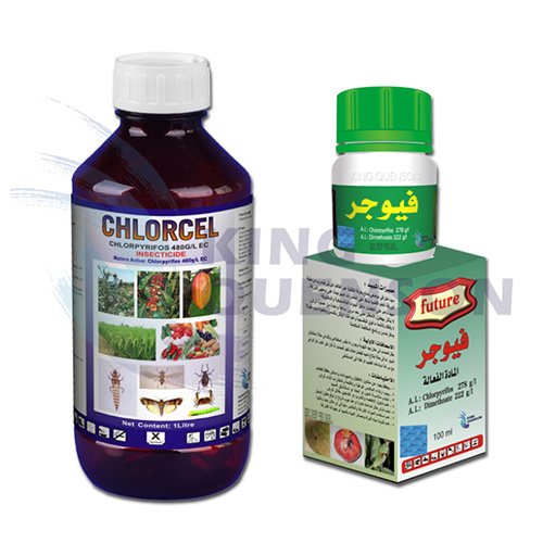 King Quenson Agrochemical Insecticide Chlorpyrifos 480 G/L Ec