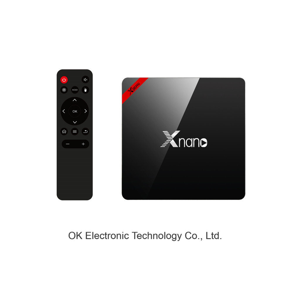 Original H96 Protv Box 3 Android 6.0 2/8g Smart 4k Quad Core Hdr Movie Set-Top Google Media Player TV Box
