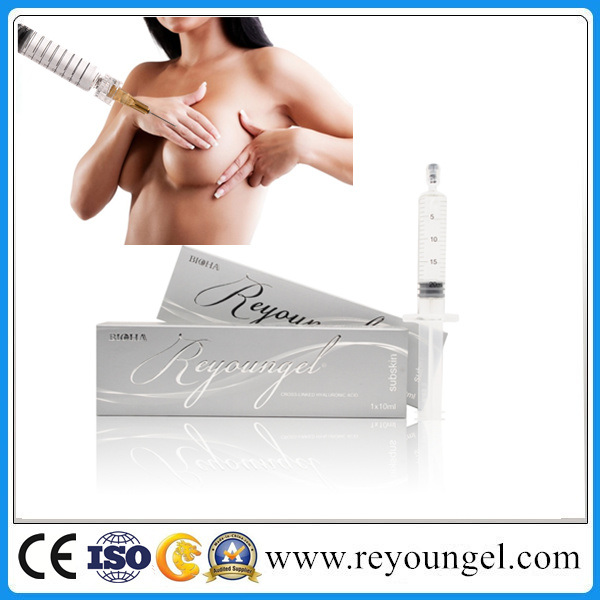 Hyaluronic Acid Dermal Filler for Breast Enhancement