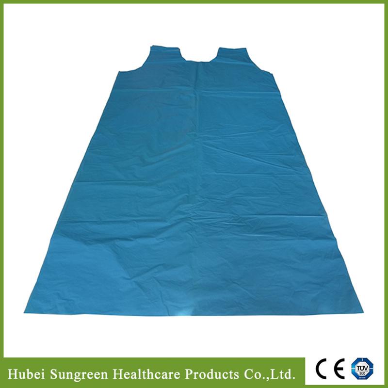 PE Vest Apron, PE Smock, Disposable Plastic Vest Gown