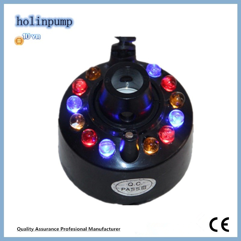 Mist Lamp Ultrasonic Tabletop Humidifiers Ventilator Fogger Mist Maker (Hl-MMS007)