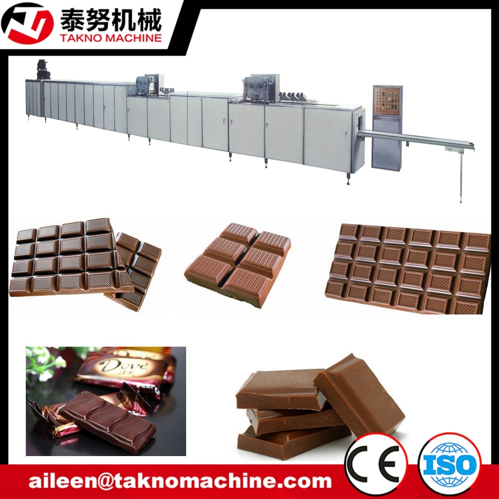 2t/8hr Chocolate Bar Production Line