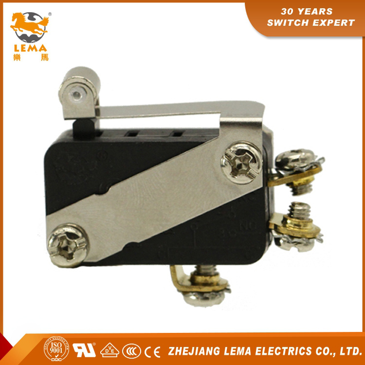 Lema Kw7-33L1 Screw Terminal Roller Lever Snap Action Micro Switch