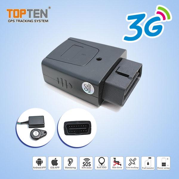 3G OBD Vehicle GPS Tracker with Smart Engine on off Detection (Tk208-J)