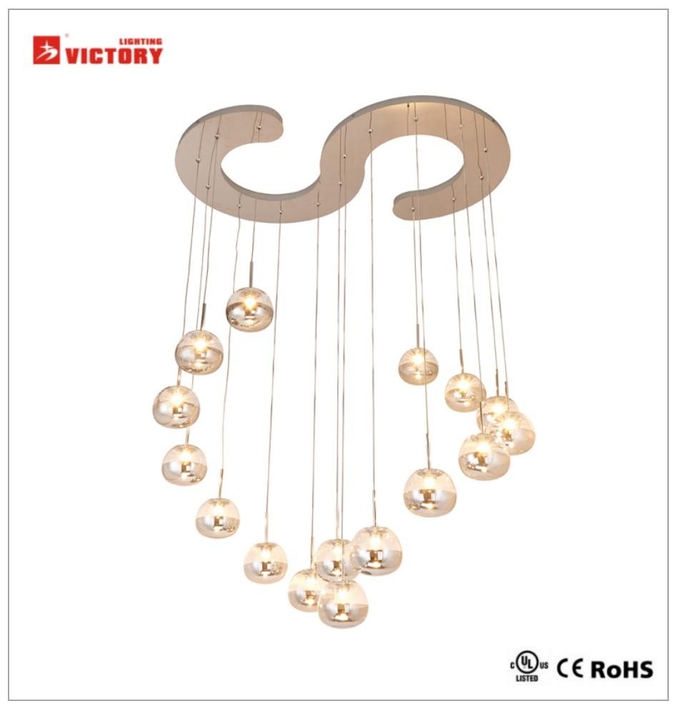 Modern Commercial Lighting LED Chandelier Pendant Light with Ce