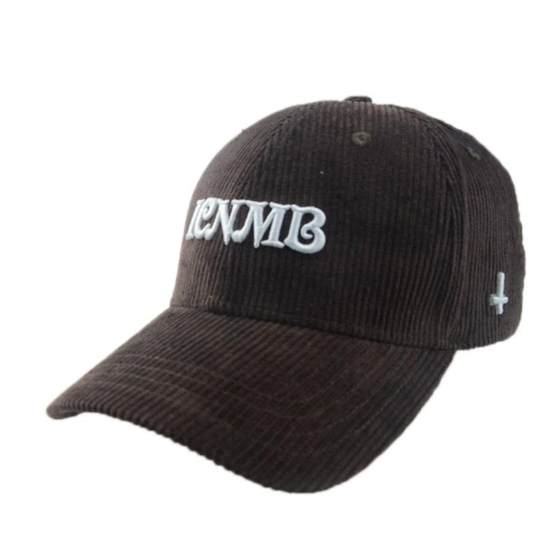 Custom Various Colour 6 Panels Corduroy Hat Baseball Cap
