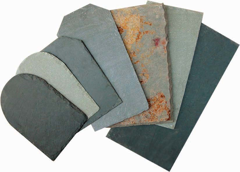 Natural Grey, Black, Green, Rusty Slate for Wall Cladding