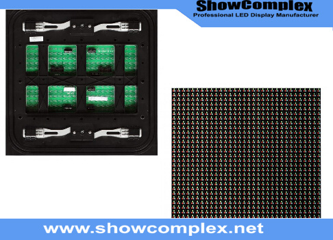 P12 Waterproof Outdoor Full Color LED Display with Front Service