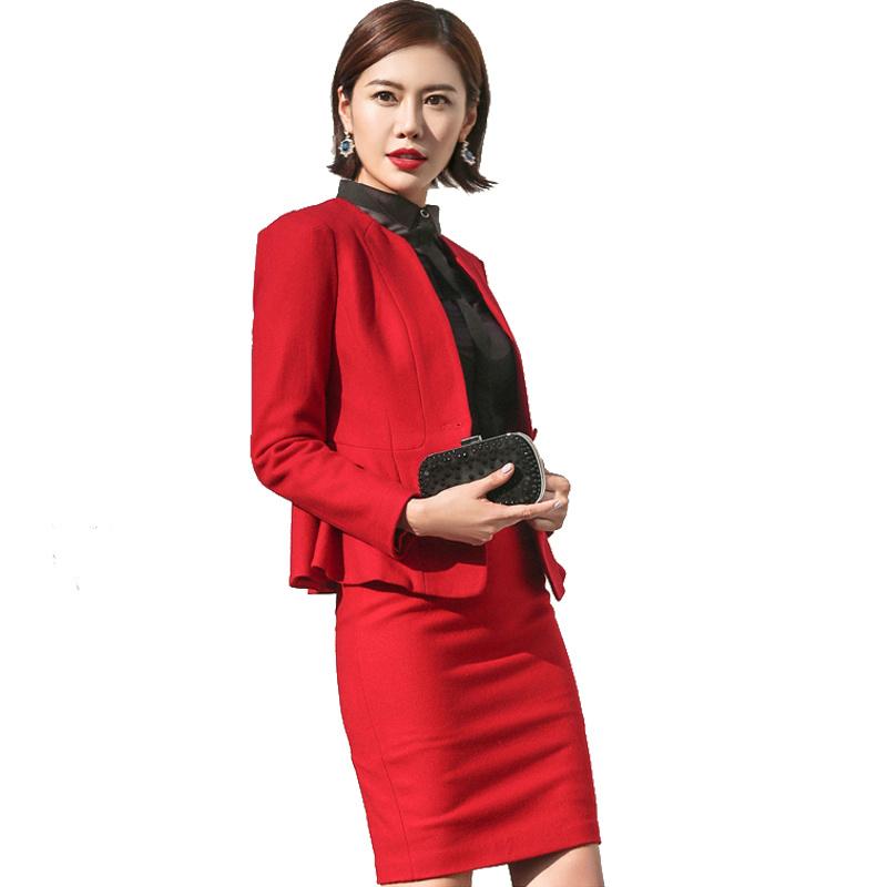 Top Quality Ladies Office Formal Wear Women Business Suit