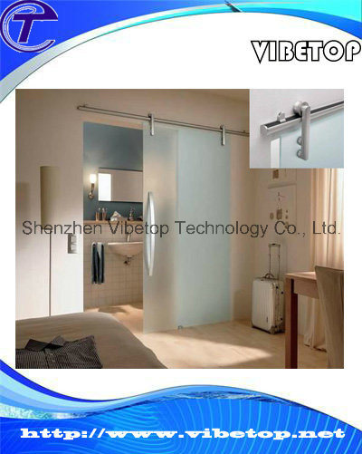 Wooden/Glass Bathroom Sliding Barn Door Hardware Fittings