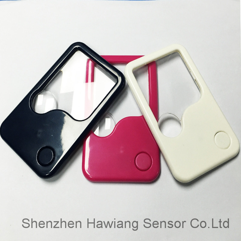 Factory Supply LED Light Card Magnifier for Promotional Gift (HW-212PA)