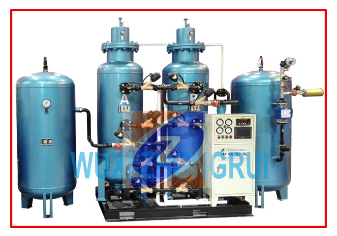Oxygen Generating System with Cylinder Filling