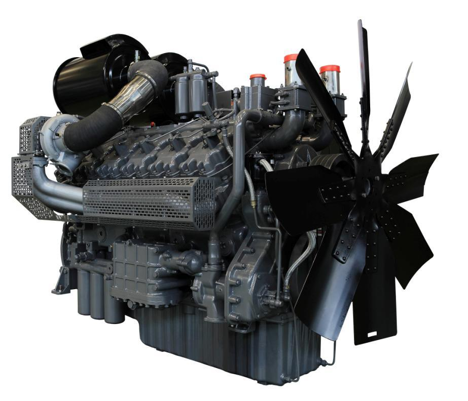 Wandi (WD) Generator Engine for Industry Machine 780kw