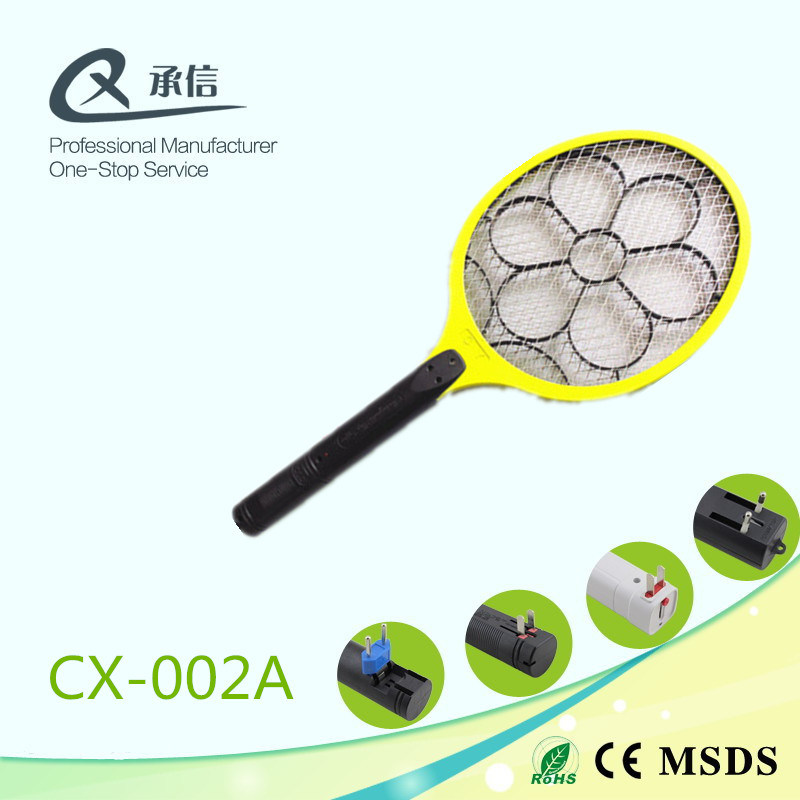 Export Flower Supply Rechargeable Electric Mosquito Swatter