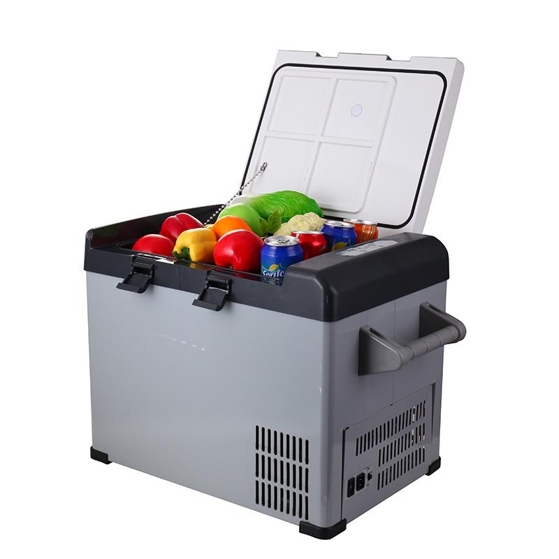 32L DC12/24V Mini Compressor Refrigerator with AC Adaptor for Car and Home