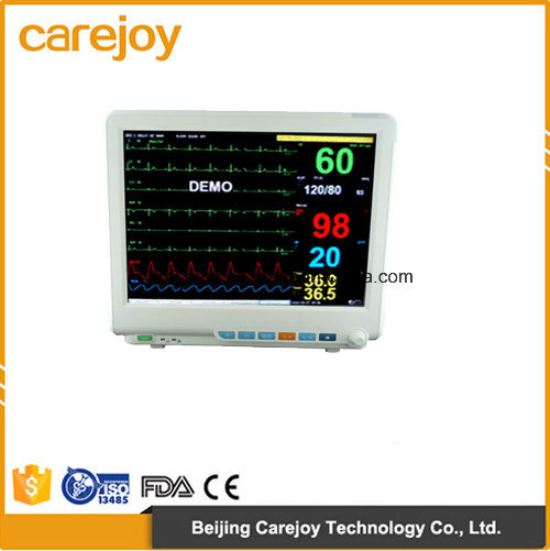 Factory Price 15-Inch 6-Parameter Patient Monitor (RPM-9000E) -Fanny