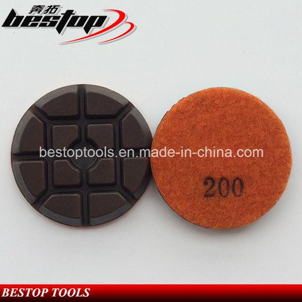 "3"" D80mm Hybrid Copper Bond Polishing Pad for Concrete"