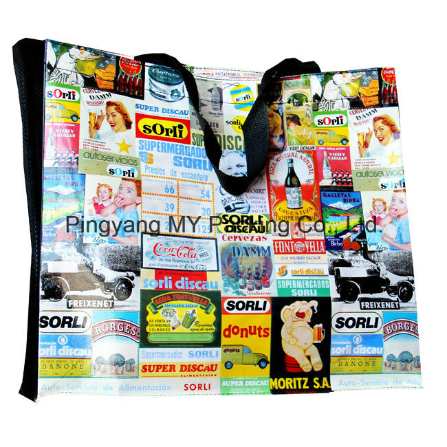 Professional Eco Friendly BOPP Laminated Non Woven Shopping Bag