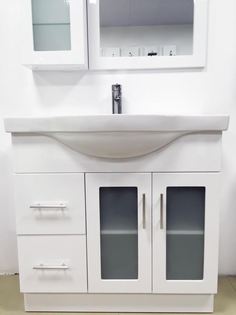 Australian Style MDF Wooden Bathroom Vanity/Cabinet (P192-900GL)