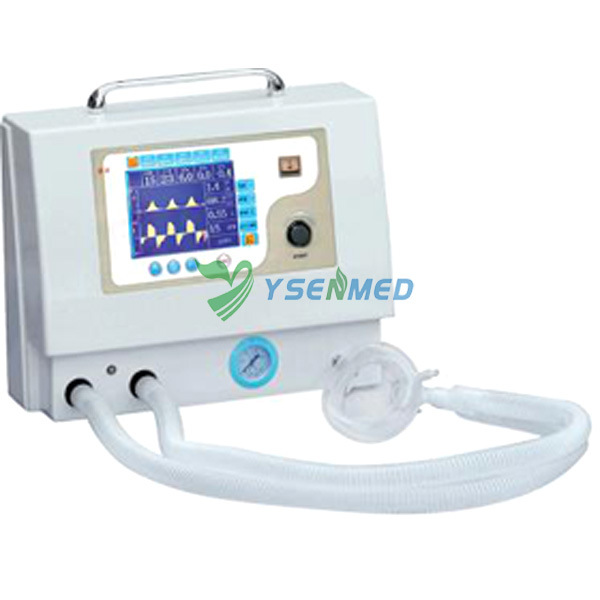 Medical Veterinary Hospital ICU Portable Ventilator
