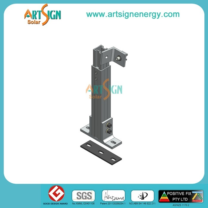 Adjustable Leg Solar Solution for Solar PV Mounting System for Roof Installation