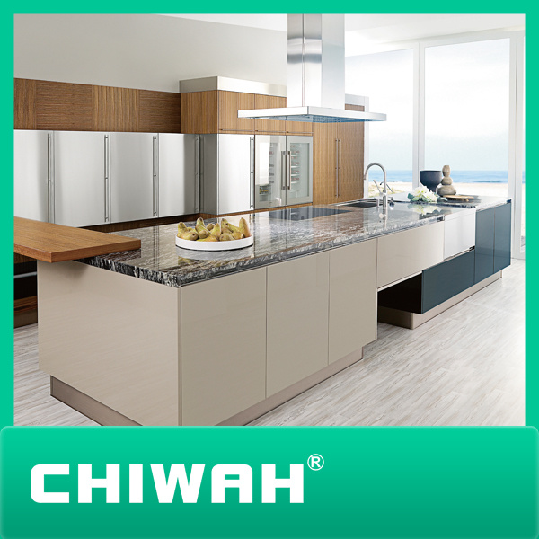 Model Kitchen china 2016 new model kitchen cabinet with new color - china