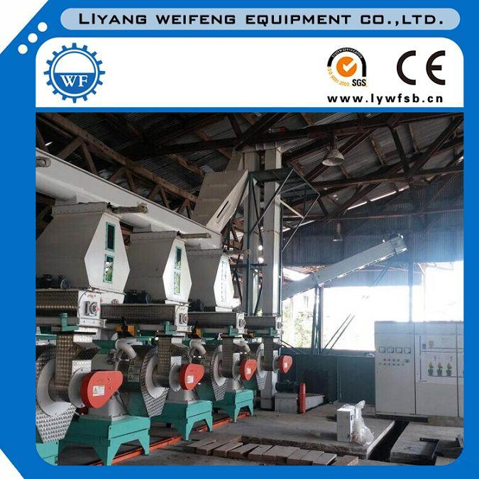 High Quality Ce Approved Pellet Mill Pellet Machine