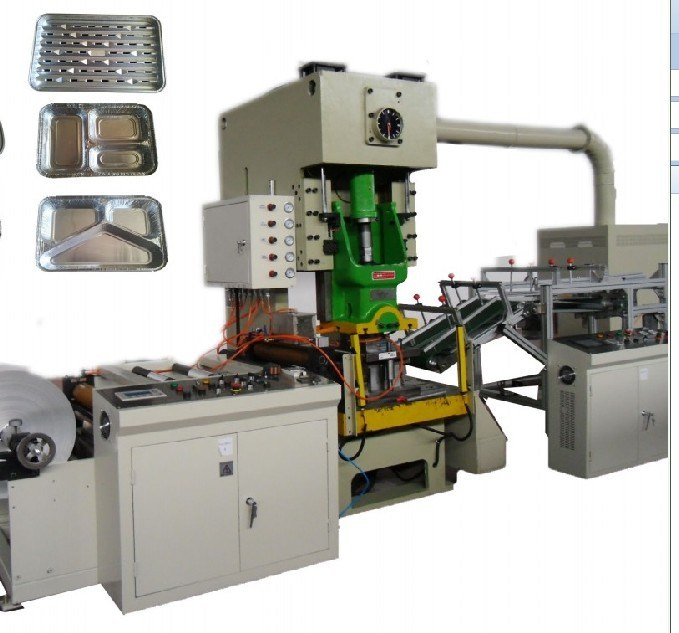Aluminium Foil Container Making Machine