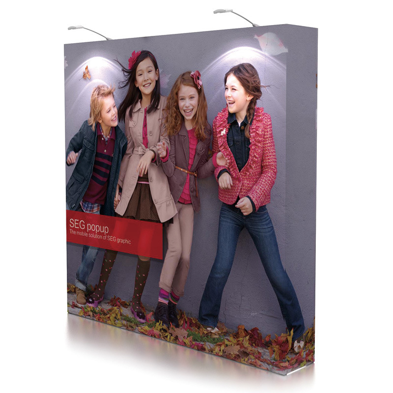 Seg Pop up Display Stand