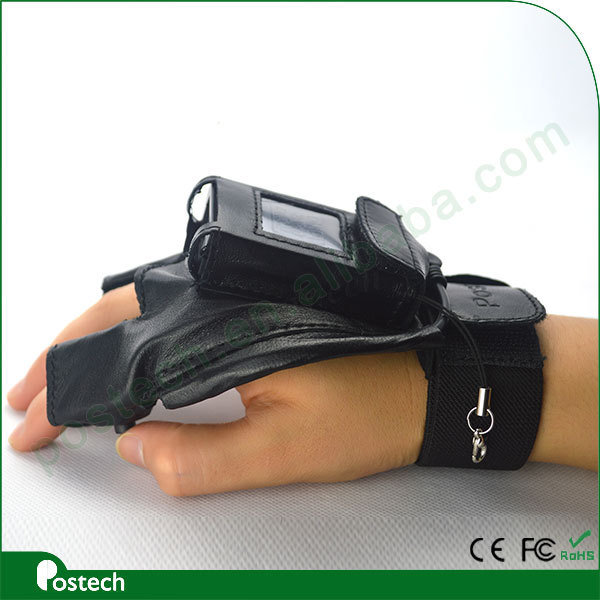 Pocket Size Bluetooth 2D Qr Code Scanner with Glove Wristband