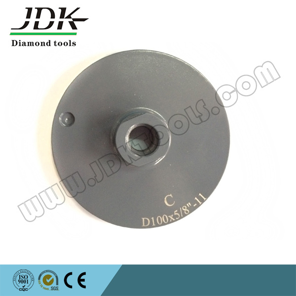 "100*5/8"" Diamond Resin Filled Cup Wheel for Granite Grinding/Polishing Wheel"