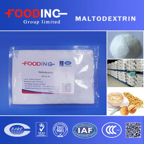 Sweeteners Food Grade Maltodextrin with Kosher and Halal Certificated