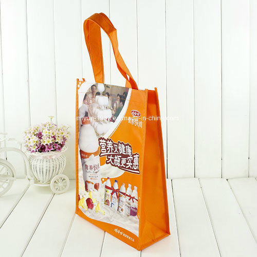Non Woven Laminated Shopping Tote Bag (M. Y. M-006)