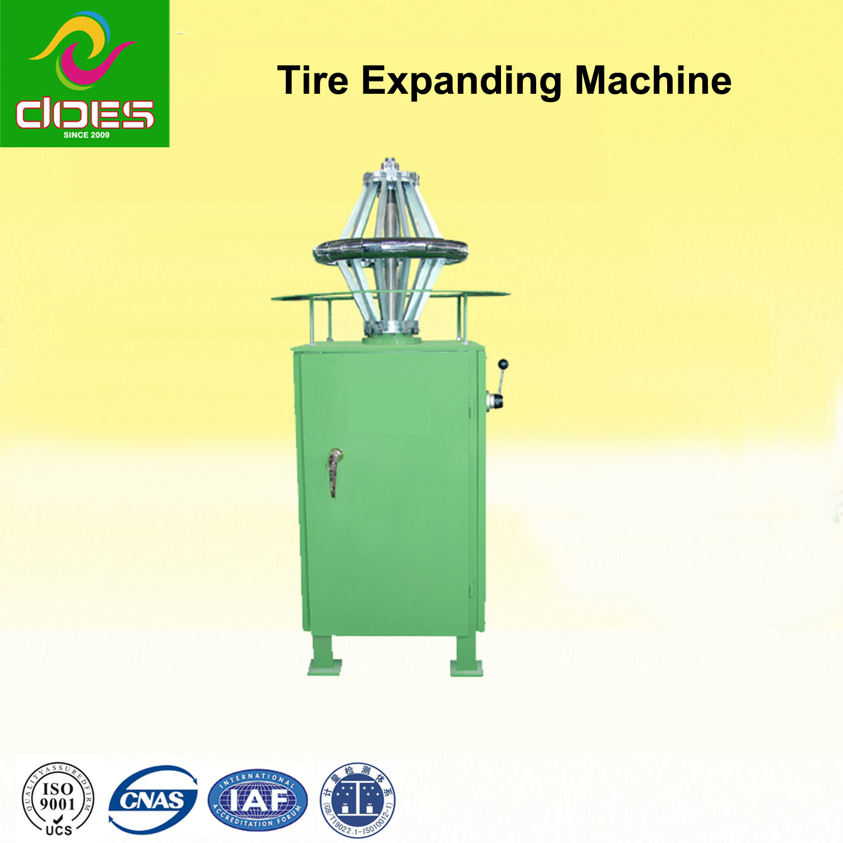 Tire Expanding Machine for Green Tire with 300#