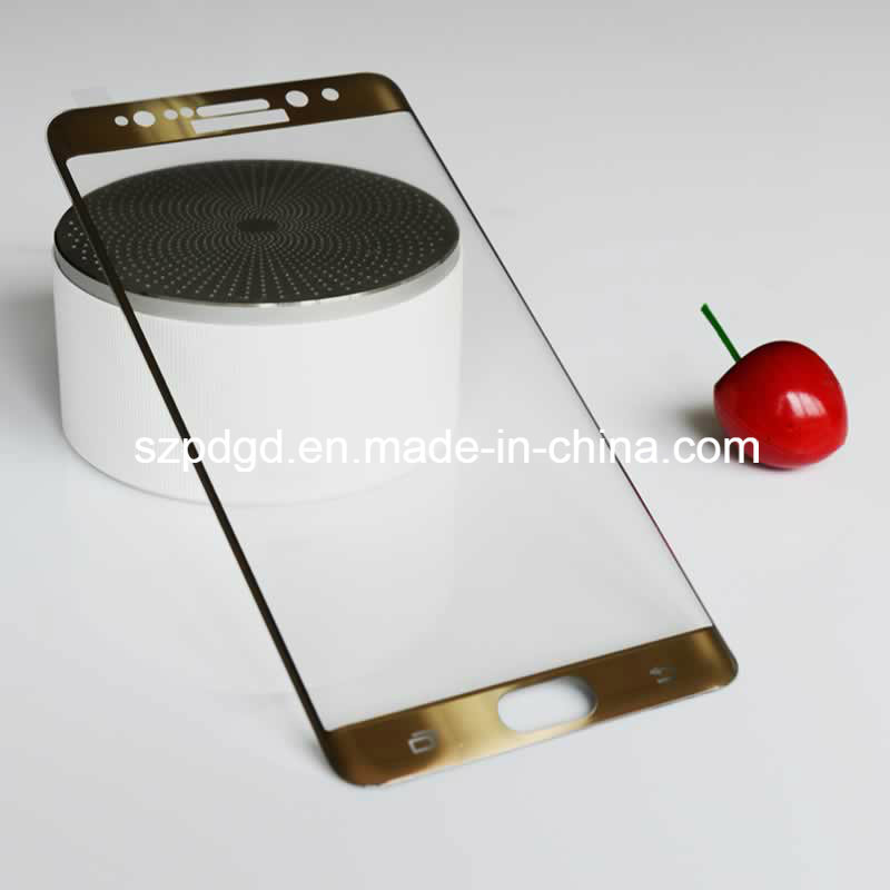 3D 9h Curved Edge Tempered Glass Screen Glass for Samsung Galaxy Note 7 (Electroplate)
