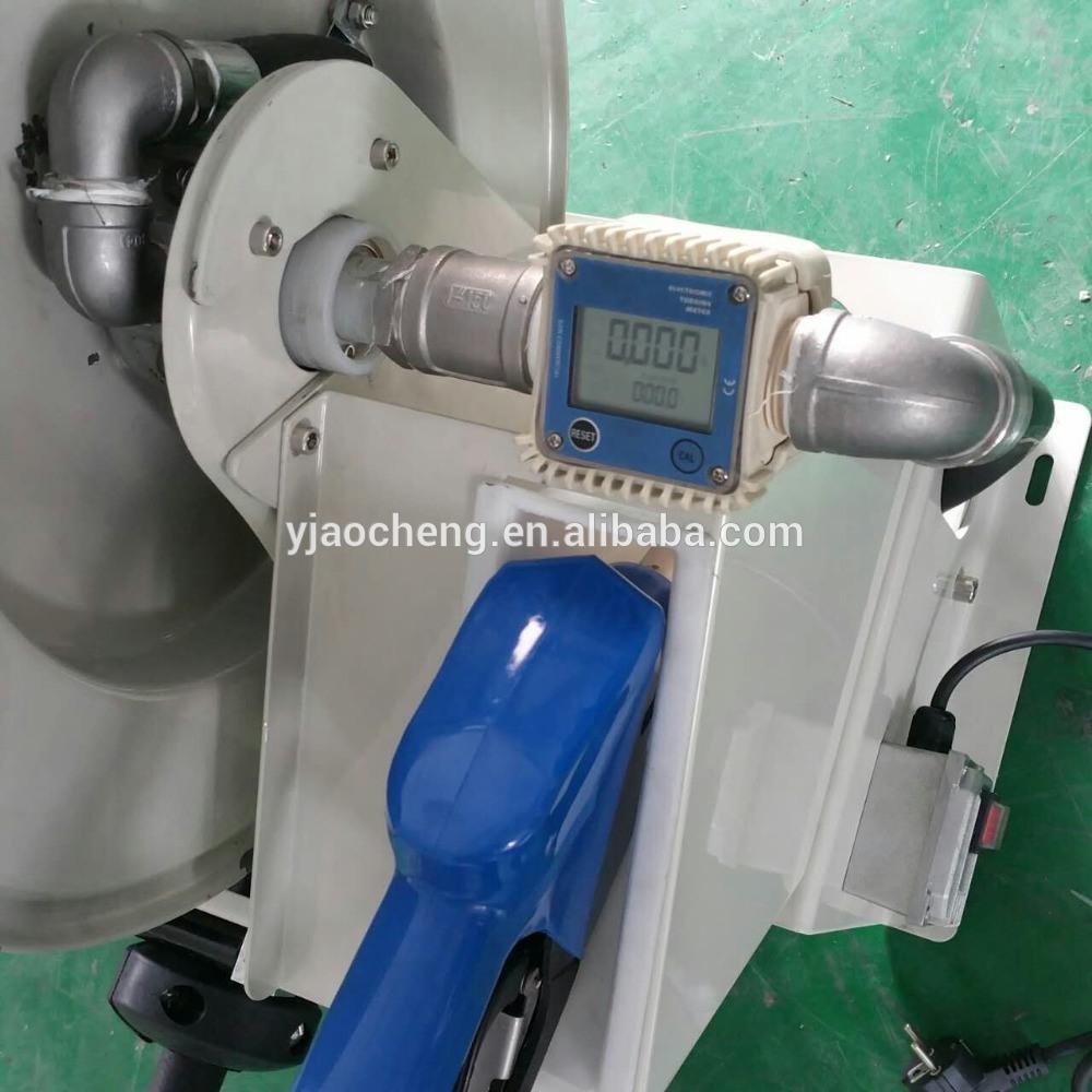 Auto Rewind Urea Hose Reel with K24 Flow Meter