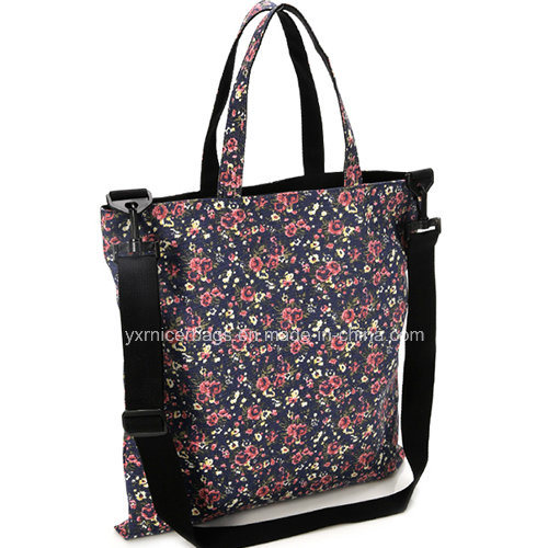 Wholesale Latest Floral Print Tote Bag, Shoulder Bags 2016