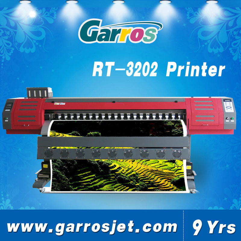 Garros 1.8m 3.2m Digital Sublimation Textile Printer Machine with Dx5+ Head