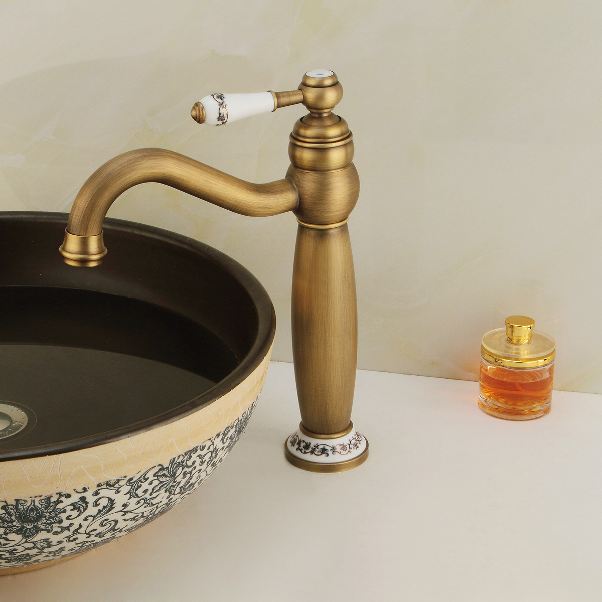 Bronze Brass Water Mixer Tap Automatic Faucet (6009A)