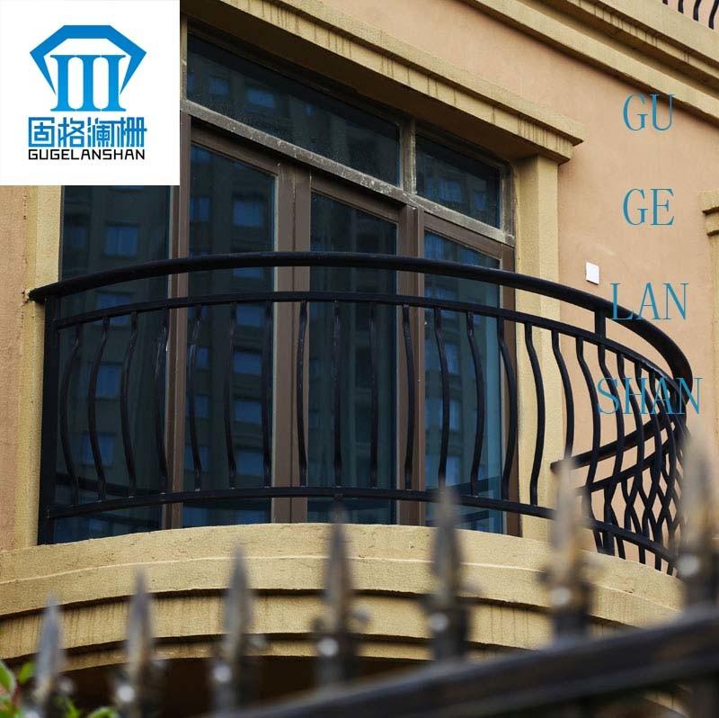 Wrought Zinc Steel Garden Security Fence 009